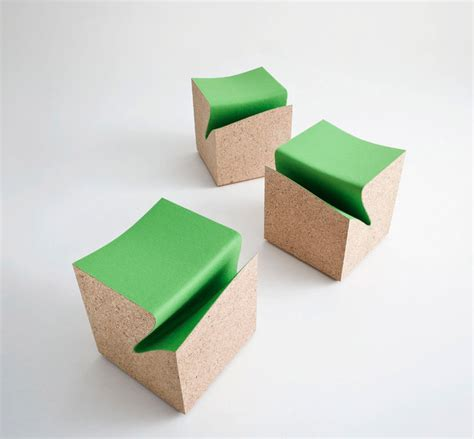 Chagne Cork Stool by News Archive April 2013 Design 4 Sustainability
