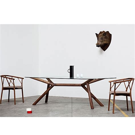 Size Of Dining Table For 6 Miniforms Otto Dining Table 6 Sizes