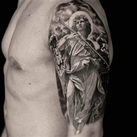 angel tattoo latin 155 charming angel tattoos most popular designs of 2018