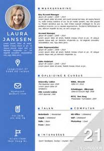 A Curriculum Vitae Template by Cv Sjabloon 21
