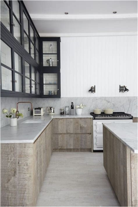 Awesome White Or Dark Kitchen Cabinets 2017 #6: 6148c9bee91fc6ae851e3fe8e25ea419--scandinavian-kitchen-interiors-scandanavian-kitchen-design.jpg