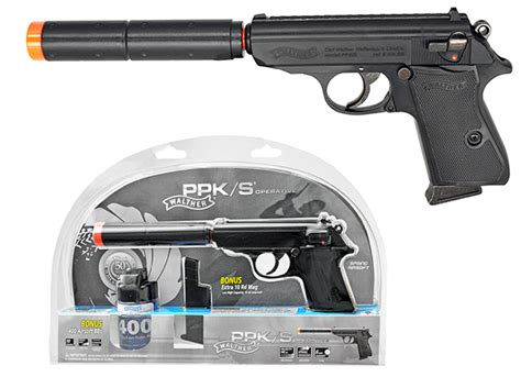 Jual Airsoft Gun Walther Ppk Walther Ppk S Operative Airsoft Pistol Combat Kit