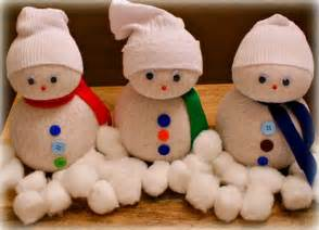 pin sock snowman craft for kids on pinterest