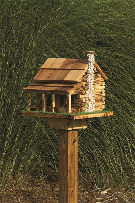 wooden bird feeder pictures