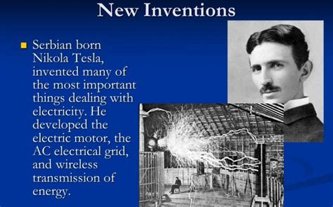history of nikola tesla inventions nikola tesla