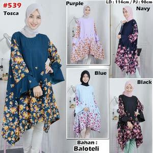 Xl Jumbo Bigsize Blouse Tunik Wanita Big Size Ibu Menyusui model baju atasan tunik jumbo wanita motif bunga bunga