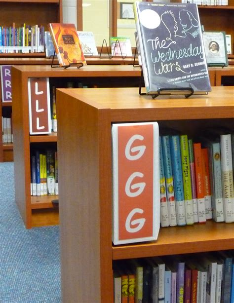 Library Shelf Signs by Fiction Shelf Signs Fiction Signs With Shelf Divider