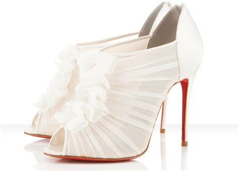 Bridal Bootie Shoes by Peep Toe White Bridal Booties Wedding Shoes