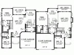 Eplans Com Split Bedroom Floor Plans 1600 Square Feet Level 1 View
