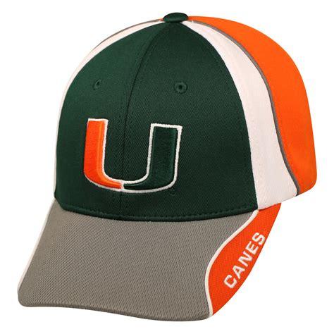 ncaa s baseball hat of miami hurricanes