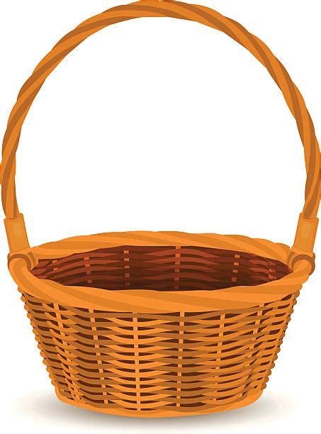 clipart basket royalty free easter basket clip vector images