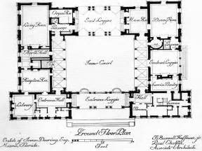 Hacienda Style Floor Plans mexican hacienda house plans spanish house plans with