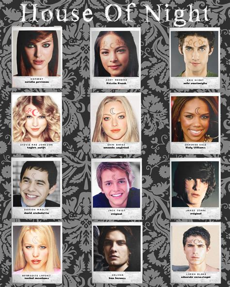 the house of night house of night cast by vanesa91 on deviantart