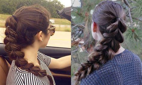 cute hairstyles pull through braid pull through braid hairstyles for notorious looks