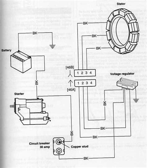 voltage regulator wiring diagram problem efcaviation