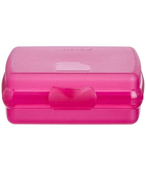 Tupperware Lunch Box Pink tupperware pink plastic lunch box buy at best