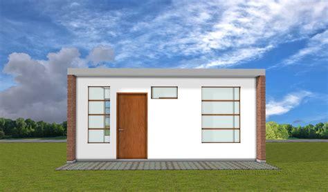 imagenes de casas planos de casa peque 241 a de 42 metros cuadrados