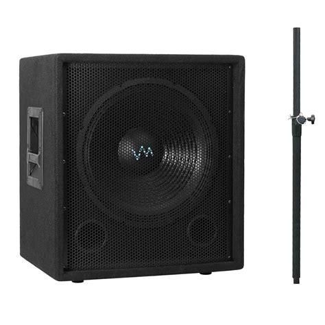 Speaker Fabulous 18 Inch 2000 Watt vm audio 18 inch 2000 watt passive subwoofer dj pro