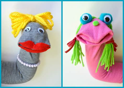 sock puppets with toddlers diy sock puppets