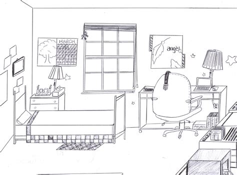 how to draw a bedroom my dream room by mangafox23 on deviantart