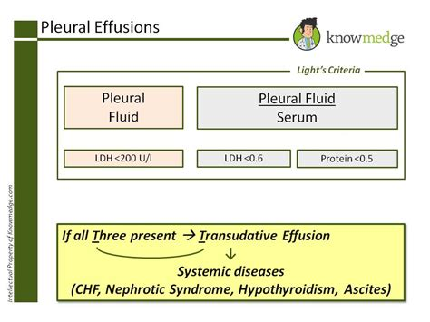 Light Criteria by 8 Pulmonary Critical Care Pearls For The