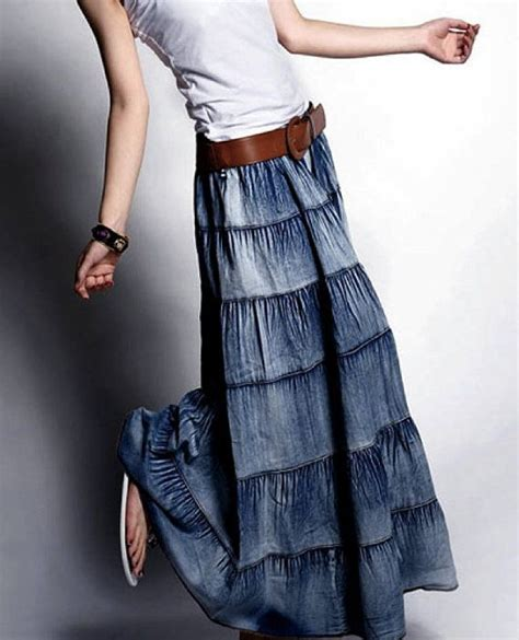 Maxi Denim Songket 61 best focus on skirts images on batik fashion skirts and batik dress