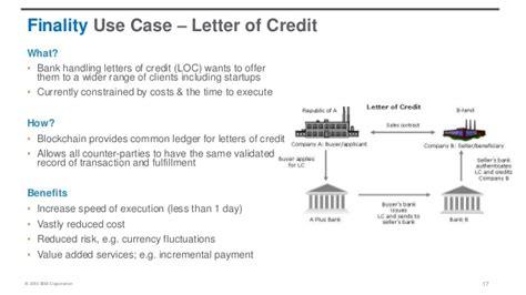 Letter Of Credit Explained Blockchain Explained For Devlopers