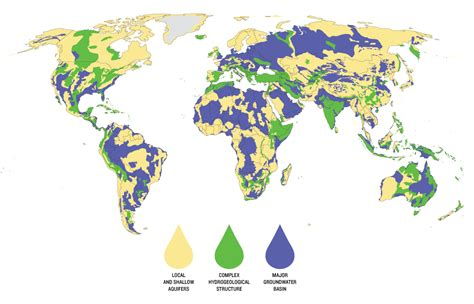 world map rivers and lakes groundwater going going ensia