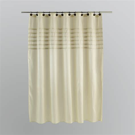 white cream curtains kardashian kollection home spanish harlem cream shower