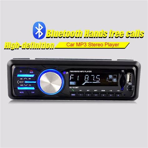 audio format for car cd player mp3 1010 car mp3 music player 1 din 12v stereo bluetooth