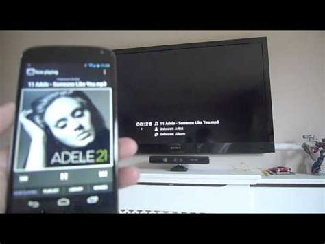 download mp3 youtube smartphone android smartphone dlna media sharing to sony hd tv nexus