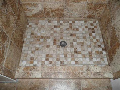 mosaic tile bathroom ideas mosaic shower floor tiles decobizz