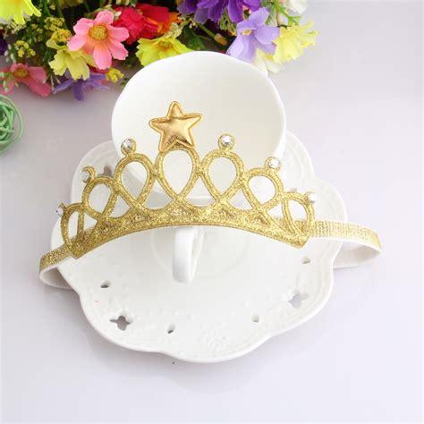baby kid toddler newborn infant princess rhinestone tiara hairband crown