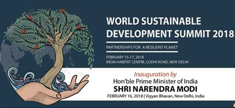 Mba Sustainable Development India by Narendra Modi To Inaugurate World Sustainable Development