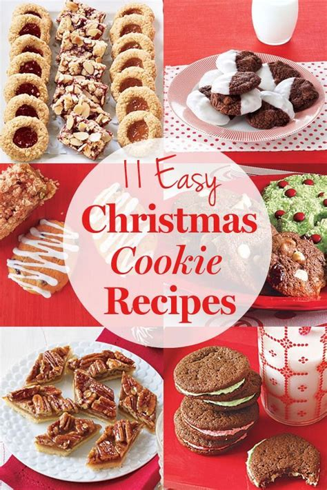 easy christmas cookie recipes low gi food pinterest