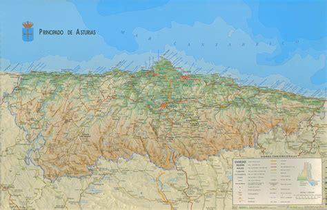 asturias mapa de carreteras 8499355900 3 espa 241 a el felino fotogr 193 fico