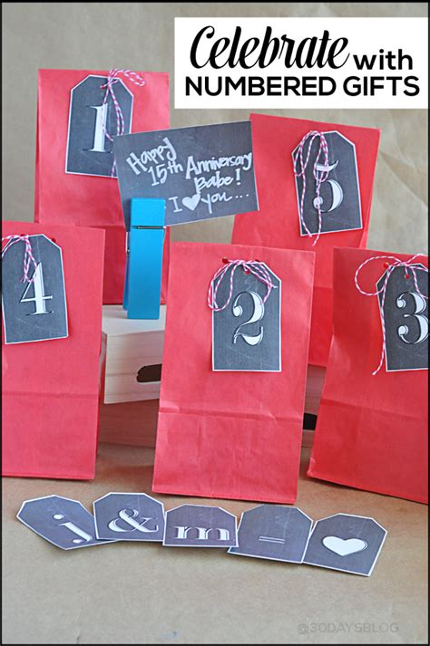 Creative Handmade Gifts For Husband - anniversary idea chalkboard printables