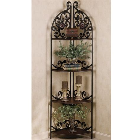 Tuscan Kitchen Ideas wrought iron corner shelf ideas homesfeed