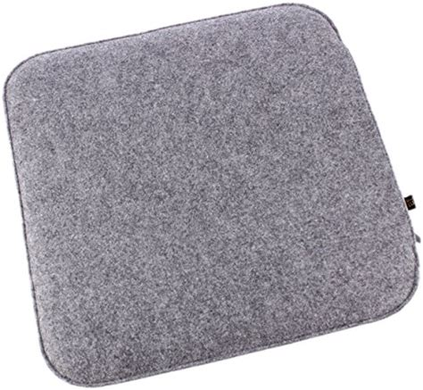 filzauflage bank filz sitzkissen in graumeliert und cremewei 223 zum wenden