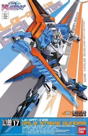 Gundam Seed Cutting Sticker 1 lg gat x105 gale strike gundam ng 1 100