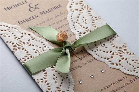 wedding invitations made freckled feather handmade rustic vintage wedding invitations