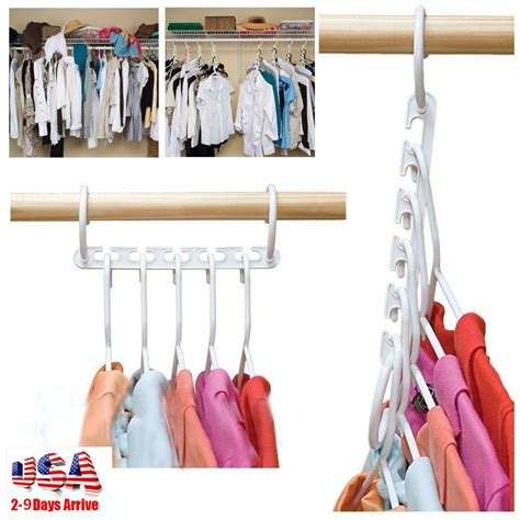 Closet Hangers Space Savers by Hanger Closet Space Saver Cloth Organizer