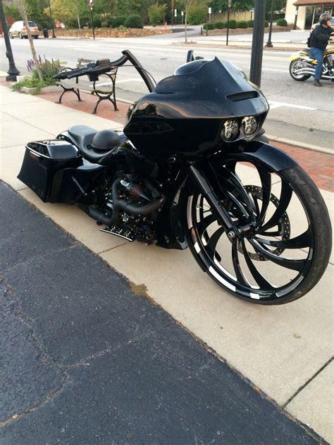 Harley Davidson Big Wheel by 2014 H D Glide Bagger Is Like A Big Wheel