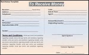 6 remittance templates word excel pdf templates