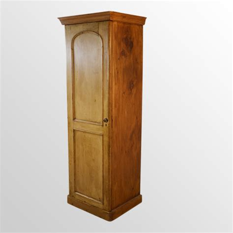Closet Cupboard Wardrobe Pine Single Wardrobe Cabinet Cupboard Closet