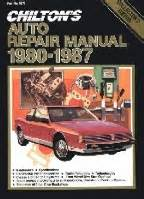 what is the best auto repair manual 1987 mitsubishi starion head up display 1980 1987 chilton s auto repair manual