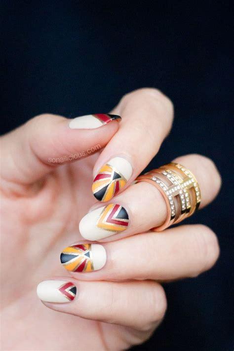 art deco nails ideas  pinterest pretty nails
