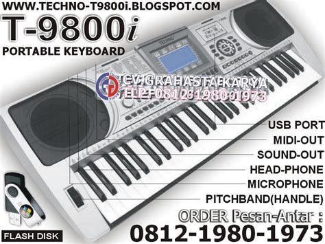 Keyboard Techno T9800i Baru jual keyboard techno terbaru grahasta 021 64714440 hp 0812 1980 1973 keyboard techno