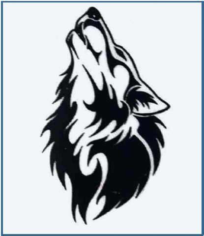 imagenes en blanco y negro de un lobo tatuajes de lobos dise 241 os de tattoos de lobos