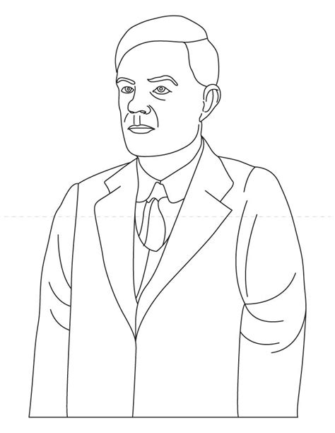 free coloring pages of thomas edison